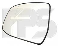 Вкладыш  зеркала левый Форд Фокус 08-10 с обогревом , FORD FOCUS II (2008-2010)