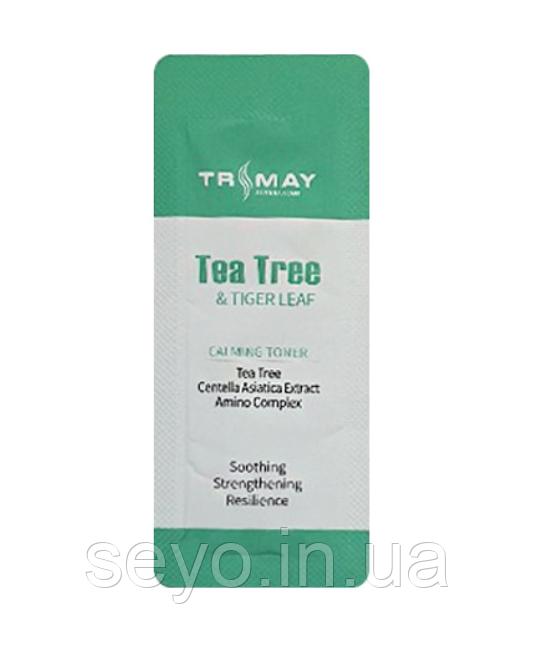 Успокаивающий тонер с чайным деревом и центеллой Trimay Tea Tree & Tiger Leaf Calming Toner пробник