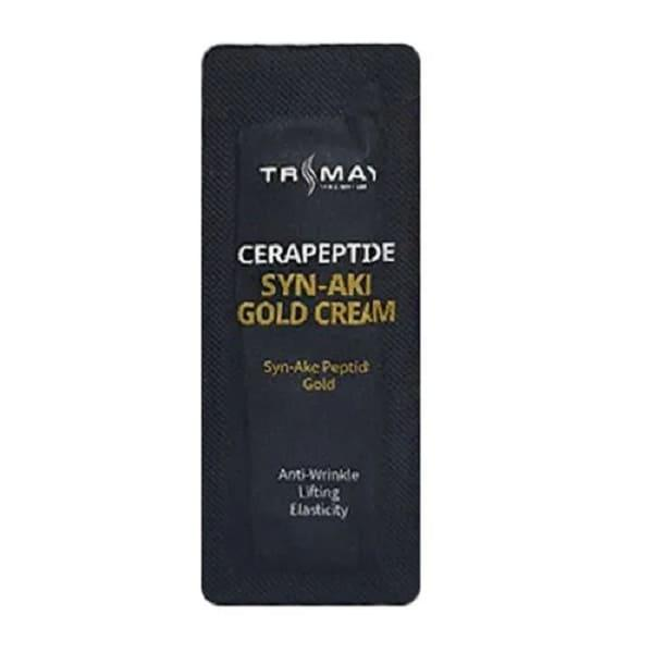 Крем с керамидами и пептидом змеиного яда Trimay Cerapeptide Syn-Ake Gold Cream пробник