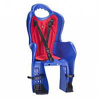 Велокресло детское для велосипеда, на багажник, HTP Design Elibas P, синее