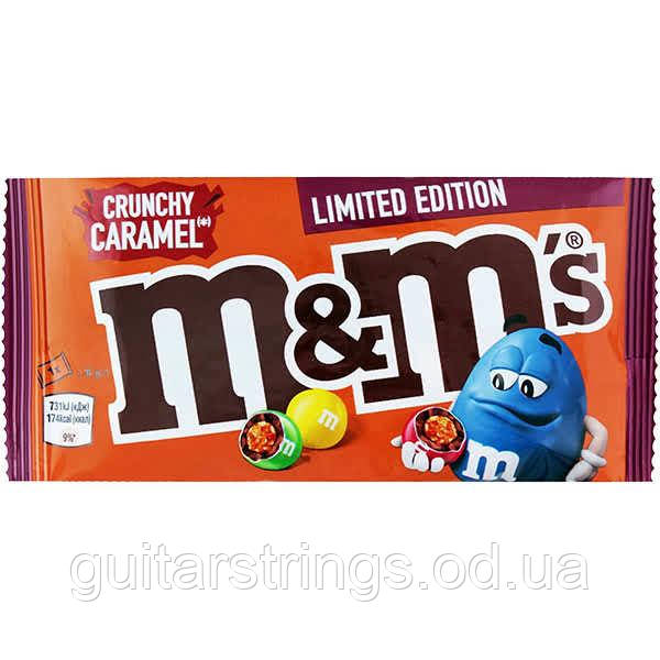 Драже M&M's Crunchy Caramel Limited Edition Chocolate Bag 36g
