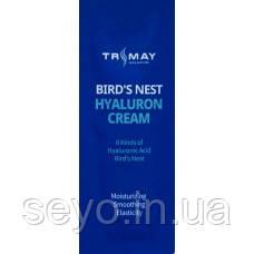 Крем с гиалуроновой кислотой и экстрактом ласточкиного гнезда Trimay Bird's Nest Hyaluronic Cream пробник