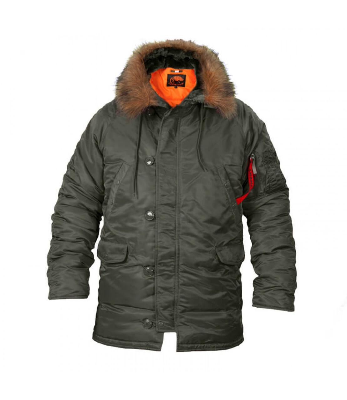 Куртка Аляска N-3B Olive