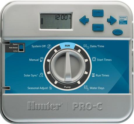 Таймер автоматического полива модульный Hunter PC-401-E (4-16 зон)