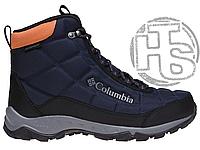 Оригинальные мужские ботинки Columbia Firecamp Boot Collegiate Navy Bright Copper 2019 BM1766-464