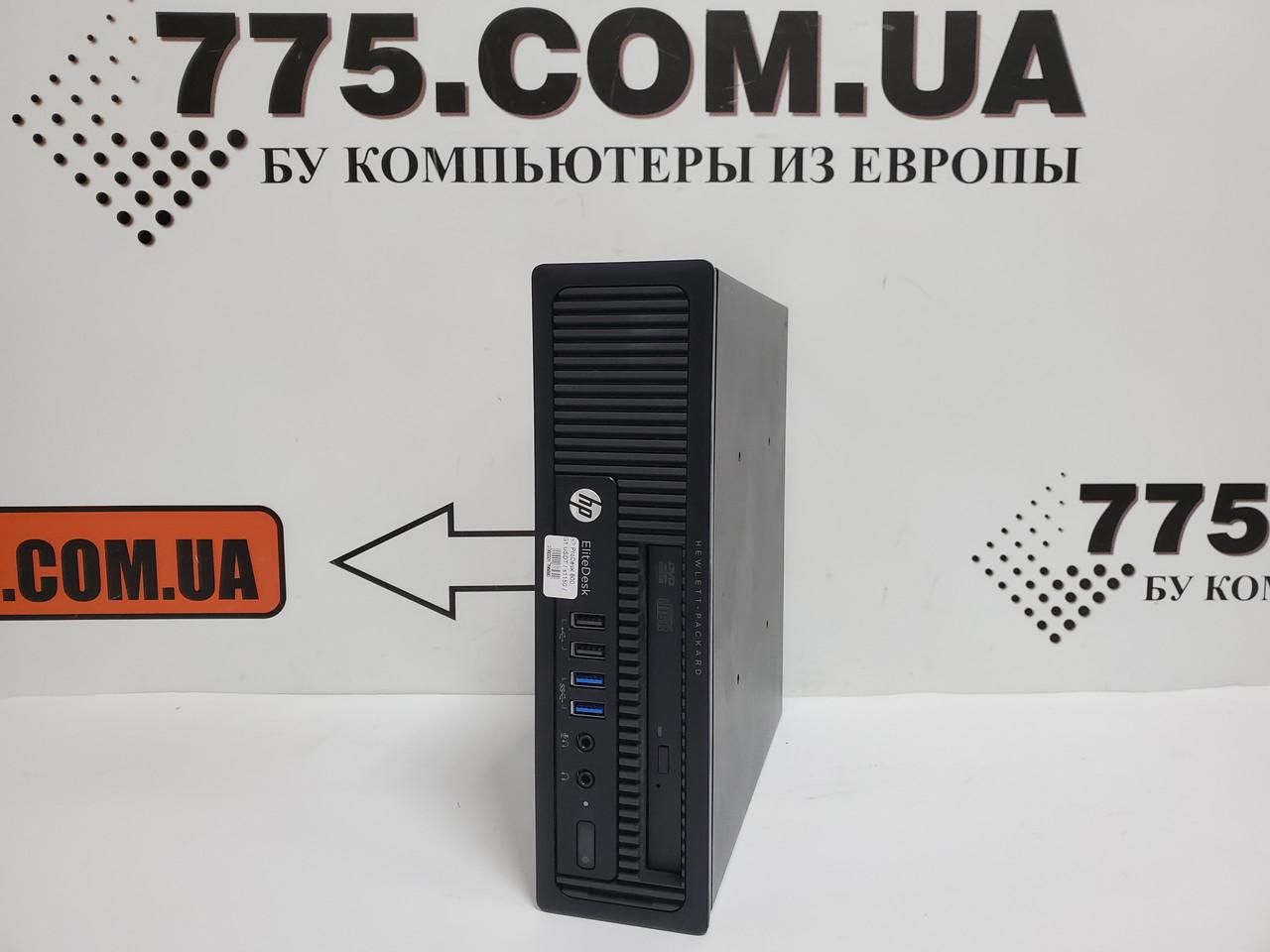 Компьютер HP EliteDesk 800 G1 USDT, Intel Pentium G3220 3.0GHz, RAM 4ГБ, HDD 250ГБ