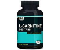Л карнитин Optimum Nutrition L-Carnitine 500 (60 tabs)