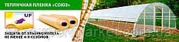 Теплична плівка «СОЮЗ» 100мкм 12м/25м з УФ-стабілізацією 24 місяці, фото 2