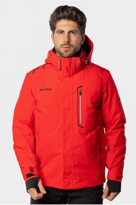 Лыжная куртка AVECS - RED