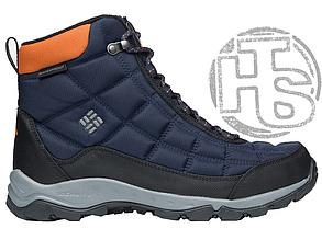 Оригинальные мужские ботинки Columbia Firecamp Boot Collegiate Navy Bright Copper BM1766-464