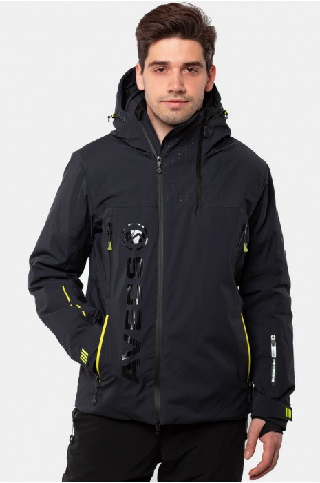 Лыжная куртка AVECS - DARK-GREY