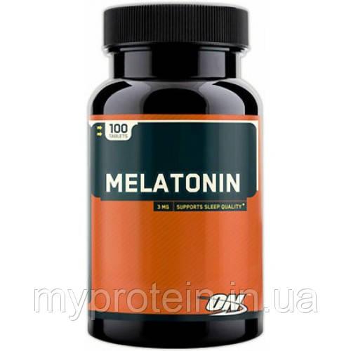 Optimum Nutrition Препарат для сна Мелатонин Melatonin (100 tab)