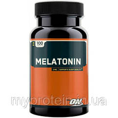 Акция. Optimum Nutrition Препарат для сна Мелатонин Melatonin (100 tab)