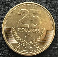 Монета Коста-Рики 25 колон 2001 г., фото 1