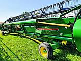 Бу роторный комбайн John Deere S690i + ZURN Premium Flow 10,7 м., фото 2