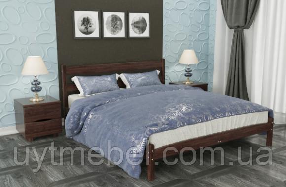 Ліжко Ліка 1400х1900 без ізніжжя венге т. (Олімп)