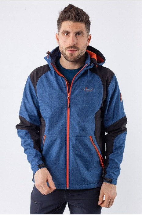 Куртка AVECS Soft Shell - Navy