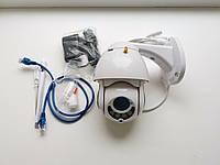 Беспроводная купольная Поворотная IP Камера Hiseeu Onvif 5X zoom 320° 1080 P PTZ IP 2mp Wi-Fi гарантия, фото 1