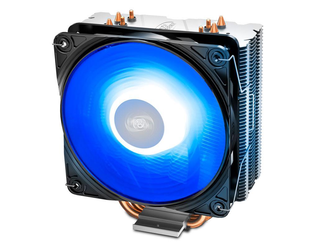 Вентилятор (кулер) для процессора Deepcool GAMMAXX 400 V2 BLUE LED
