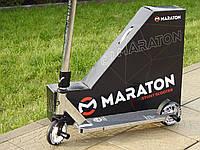 Самокат Трюковый Maraton Chilli UK 120 HIC + пеги, для трюков, колеса алюминиевые 120 мм