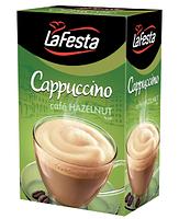Капучіно La Festa cafe Hazelnut зі смаком лісового горіха 10х12.5g Польща