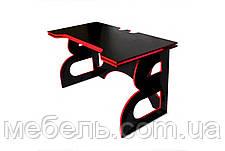 Компьютерный стол с тумбой Barsky Game Red HG-05/СUP-05/ПК-01, фото 2