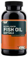 Optimum Nutrition Рыбий жир Fish Oil (200 caps)
