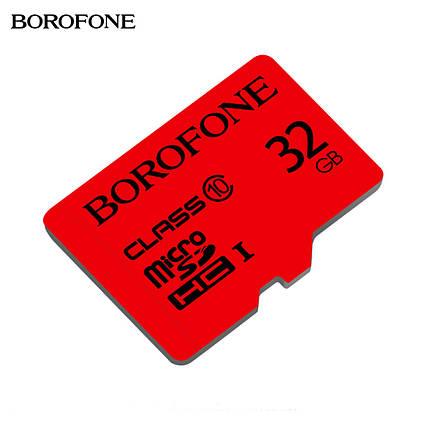 Карта пам'яті MicroSD Borofone 32GB Class 10 Original, фото 2