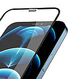 "Защитное стекло Nillkin для iPhone 12/ 12 Pro (6.1"") (PC Full Coverage) Tempered Glass с олеофобным покрытием, фото 2"