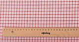 Набор хлопка для рукоделия с цветочным и геометрическим принтом в пудровых тонах - 8 отрезов 40*50 см, фото 6
