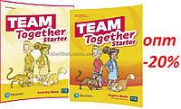 Английский язык / Team Together / Pupil's+Activity Book. Учебник+Тетрадь (комплект), Starter / Pearson