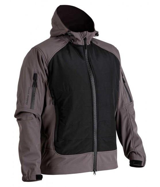 Куртка Soft Shell Gladiator Gray/Black