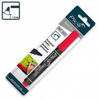 Маркер перманентный Pica Classic Permanent Marker bullet tip, красный