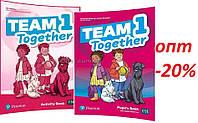 Английский язык / Team Together / Pupil's+Activity Book. Учебник+Тетрадь (комплект), 1 / Pearson