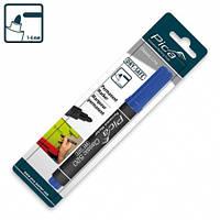 Маркер перманентный Pica Classic Permanent Marker bullet tip, синий
