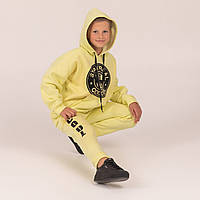 Теплый спортивный костюм  COOL  Лимон 90%хлопок, фото 1