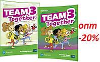 Английский язык / Team Together / Pupil's+Activity Book. Учебник+Тетрадь (комплект), 3 / Pearson