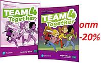Английский язык / Team Together / Pupil's+Activity Book. Учебник+Тетрадь (комплект), 4 / Pearson