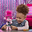 Інтерактивна лялечка співоча Трояндочка DreamWorks Trolls World Tour Pop-to-Rock, фото 8