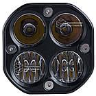 Фара LED квадратна 40W (комбінований промінь) (скло оптичне 2-х видів) (78ммх78ммх70мм), фото 5
