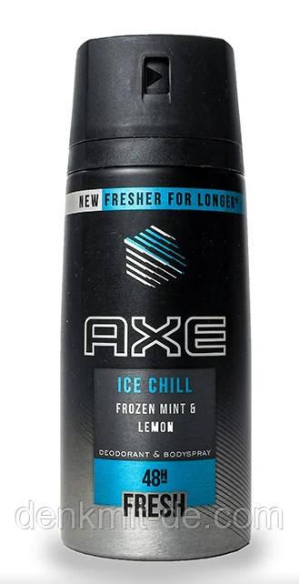 Дезодорант-спрей Axe Ice Chill мужской, 150 мл