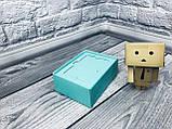 Подарочная Коробка для пластиковой карты сертификата  / 140х85х45 мм / Цвет: Бирюза, фото 4