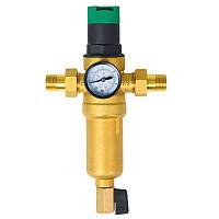 Фильтр самопромывной с редуктором для горячей воды 1/2 SD FORTE