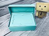 Подарочная Коробка для пластиковой карты сертификата  / 140х85х45 мм / Цвет: Бирюза, фото 2