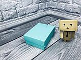 Подарочная Коробка для пластиковой карты сертификата  / 140х85х45 мм / Цвет: Бирюза, фото 6