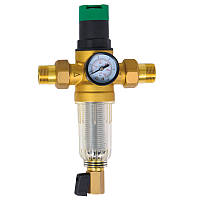 Фильтр самопромывной с редуктором для холодной воды 1/2 SD FORTE