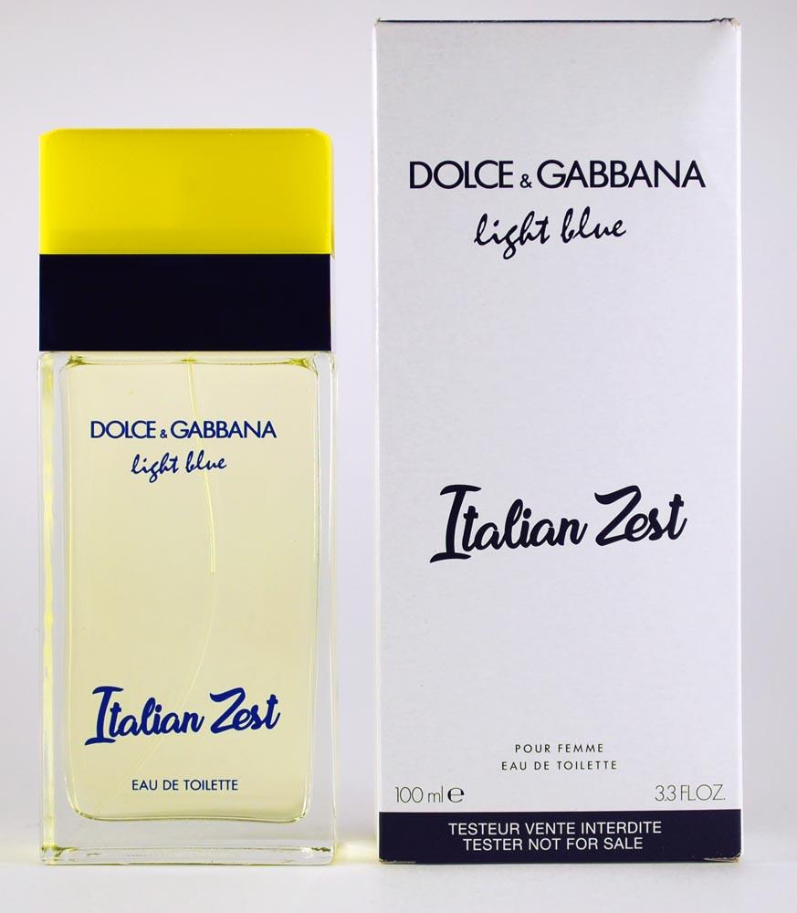 Тестер женский Dolce&Gabbana Ligth Blue Italian Zest