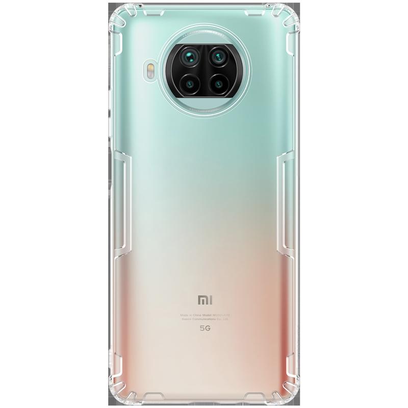 Прозрачный TPU чехол Nillkin для Xiaomi Mi 10T Lite 5G/ Redmi Note 9 Pro 5G (Nature TPU Case) Защитный чехол