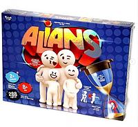 """Настольная развлекательная игра """"Alians"""""""