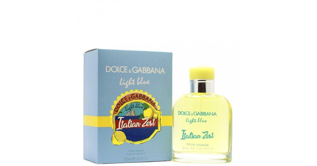 Тестер мужской Dolce&Gabbana Ligth Blue Italian Zest